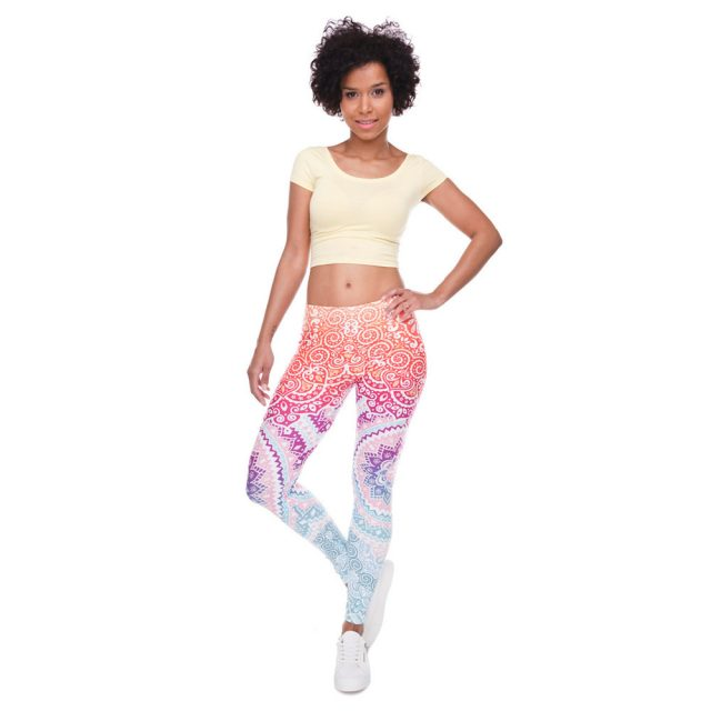 Aztec Printed Leggings - Fashion Trendy Shop