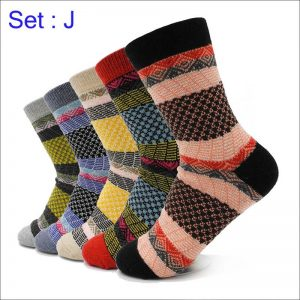 5 Pairs Winter Thermal Cashmere Socks