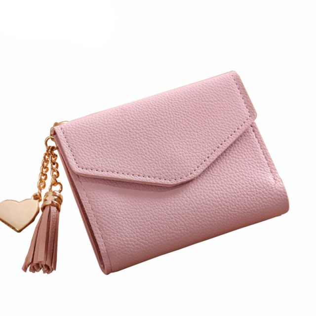 Candy Colour Mini Purse Wallet