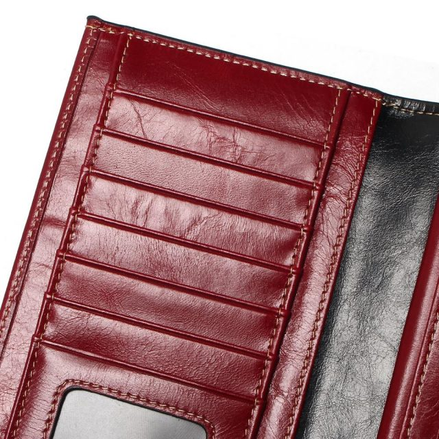 Casual Long Large Leather Wallet