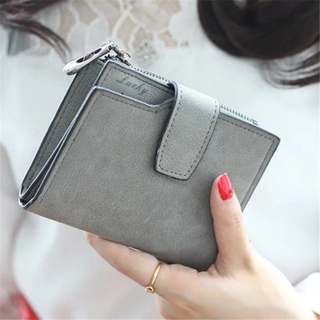 Casual Small Leather Purse