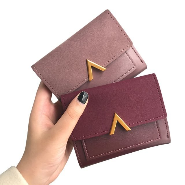 Compact Womens Credit Card Wallet