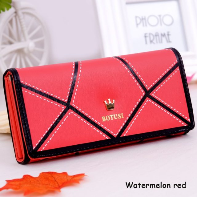 Geometric Print big Wallets for Women