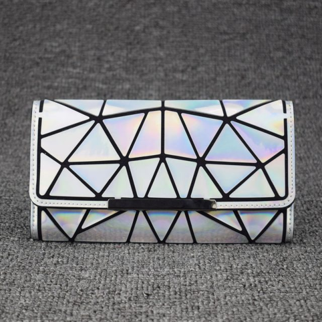 Geometric Style Holographic Wallet