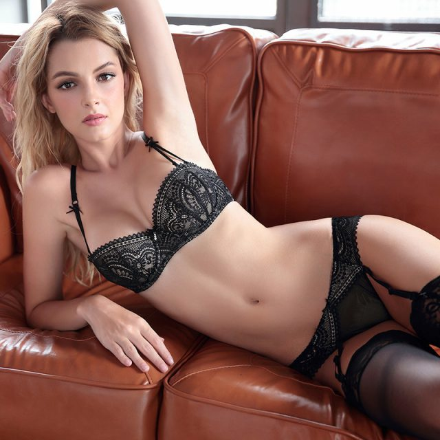 Romantic Ultrathin Lace Knicker Sets
