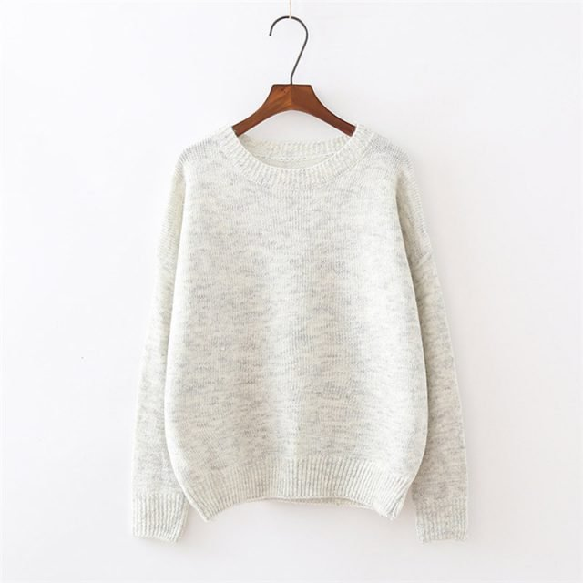 Women's Warm Long Sleeve Sweater