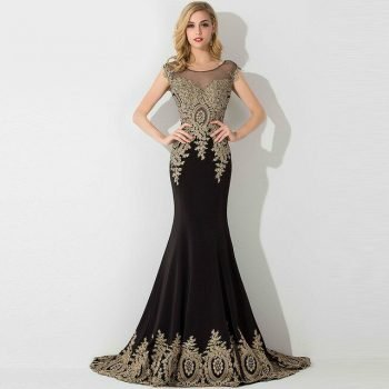 gold-applique-long-evening-dress