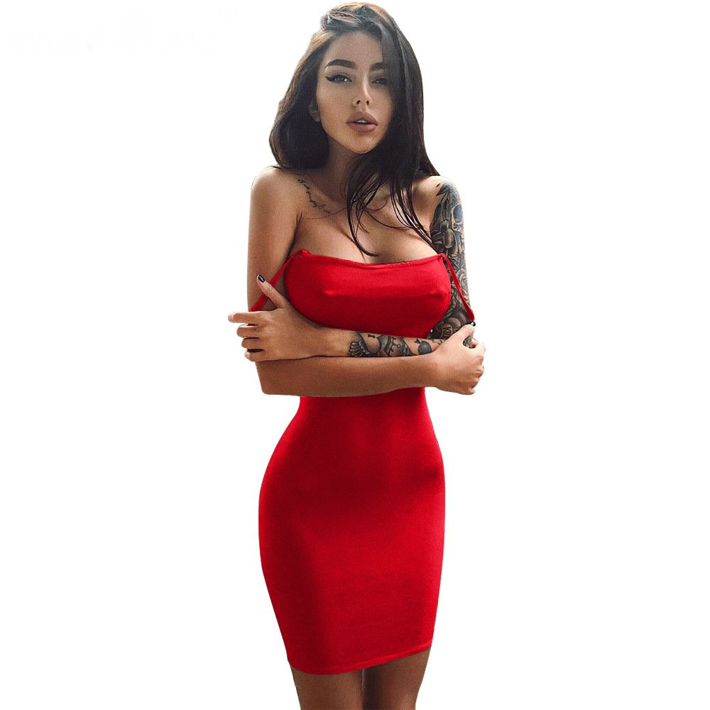 khaki spaghetti strap bodycon midi dress