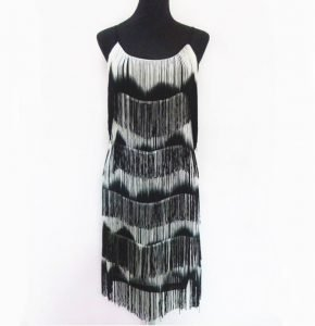 1920s tassel dress for women
