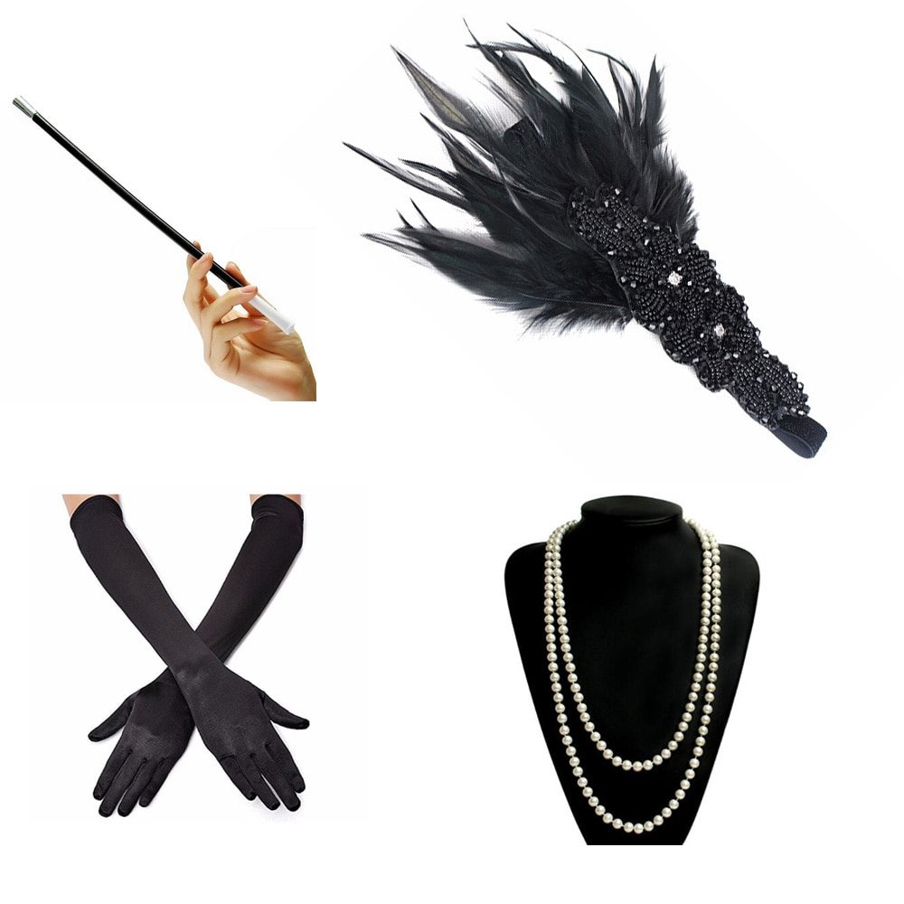 Gatsby themed accessories for women