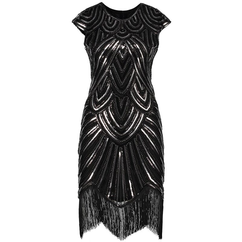 great gatsby costumes female in black