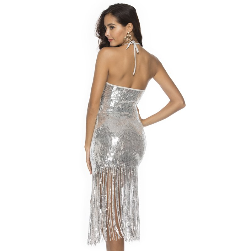 Roaring 20s outfits for women in silver