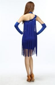 Sleeveless fringe dress for women