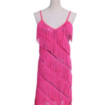 fringe cocktail dress for women