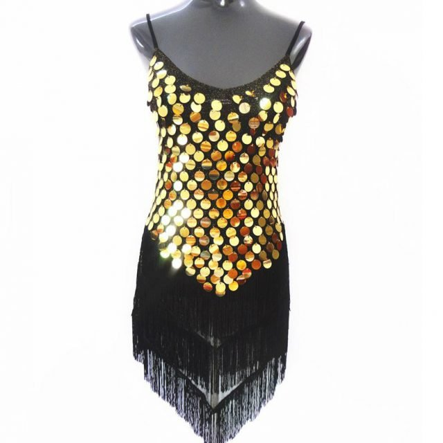 1920 party attire for women in gold