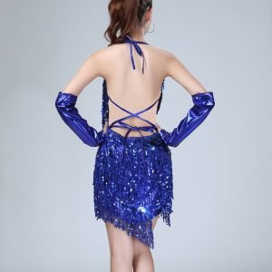 1920s themed outfits for women in blue