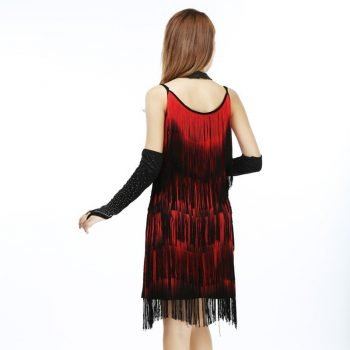 embellished tassel dress for women