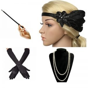 1920 flapper accessories for women