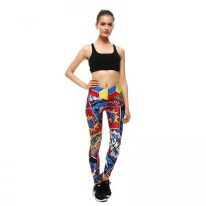 Comic book leggings XS-XL