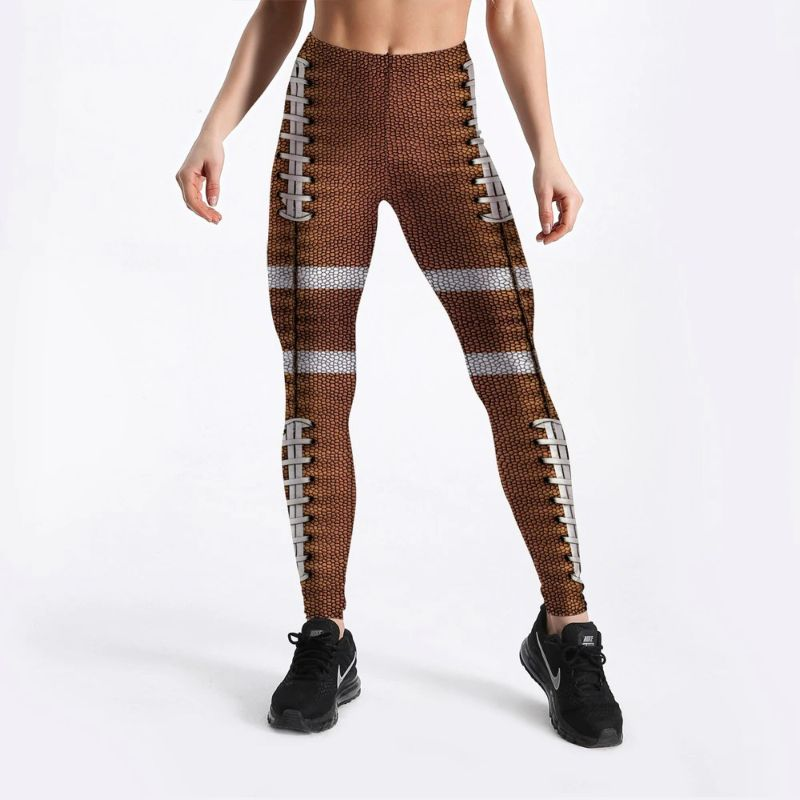 Fish scale leggings for women S-4XL