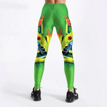 Frog leggings for women S-4XL