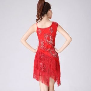 gatsby flapper costume for women in red