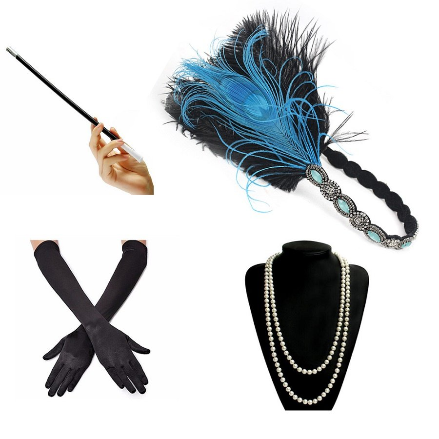 Gatsby style accessories for women