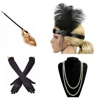 Great gatsby costume accessories for women