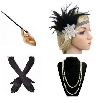 Great gatsby gloves and accessories