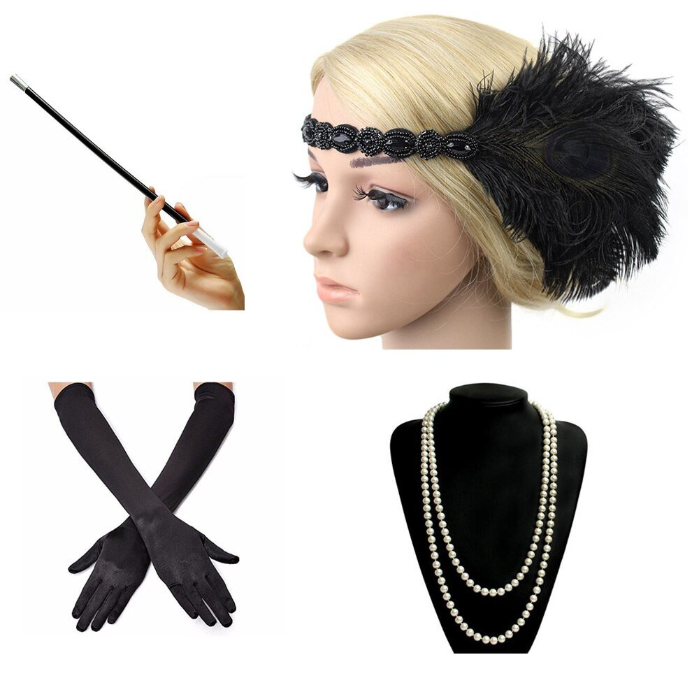 great gatsby themed accessories for women (Copy)