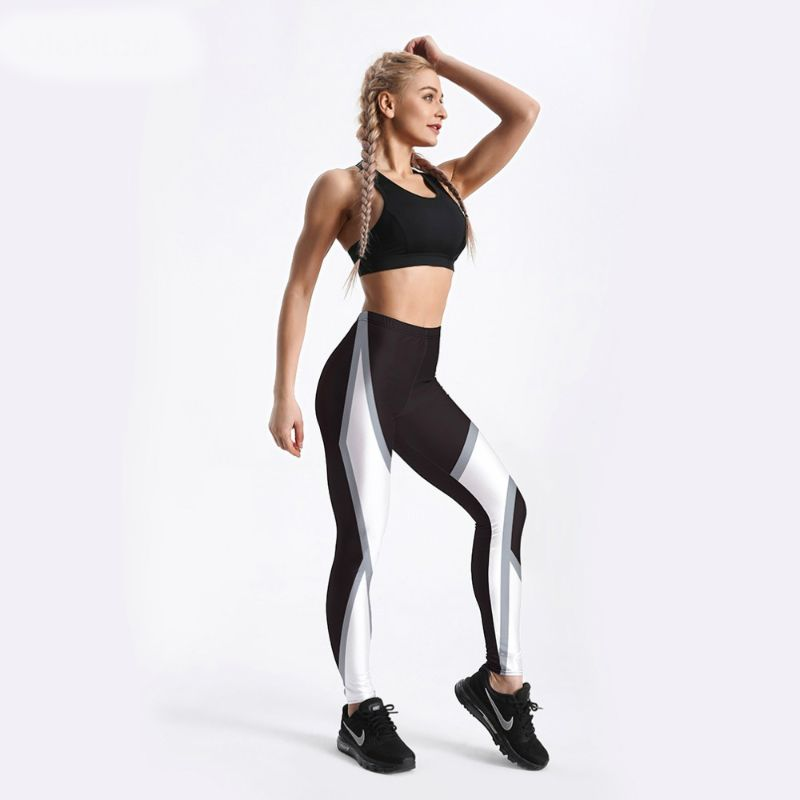 High waisted gym pants S-4XL