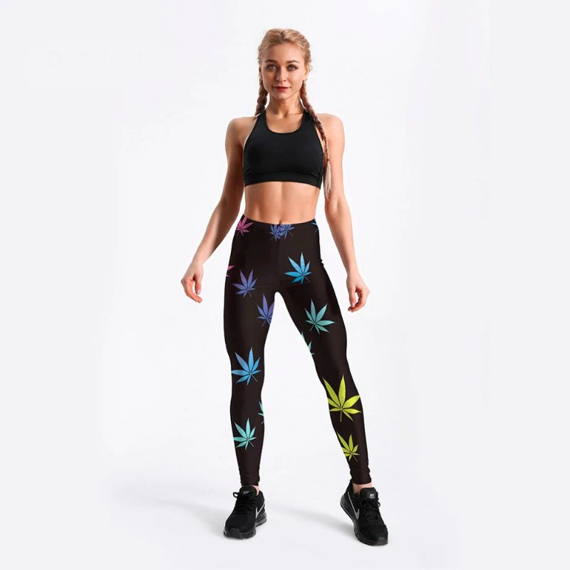 High waisted plus size workout pants