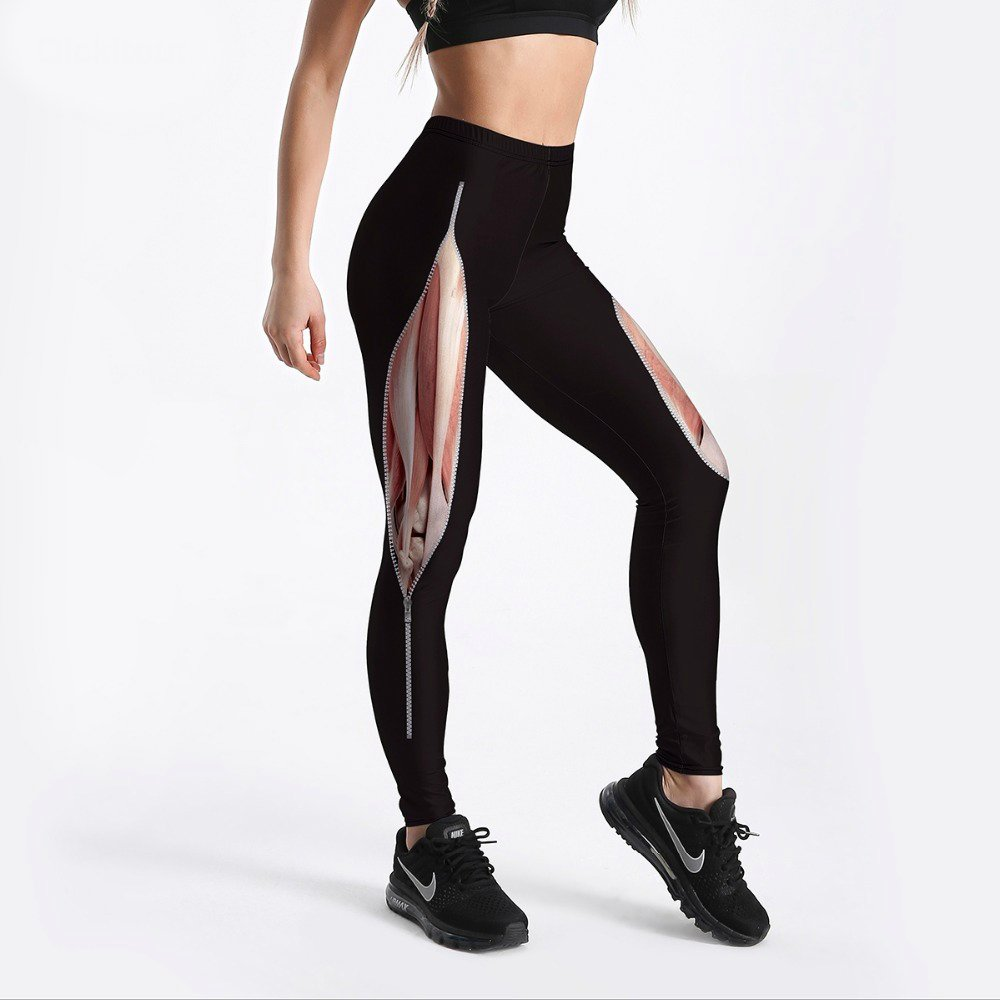 High waisted workout leggings plus size