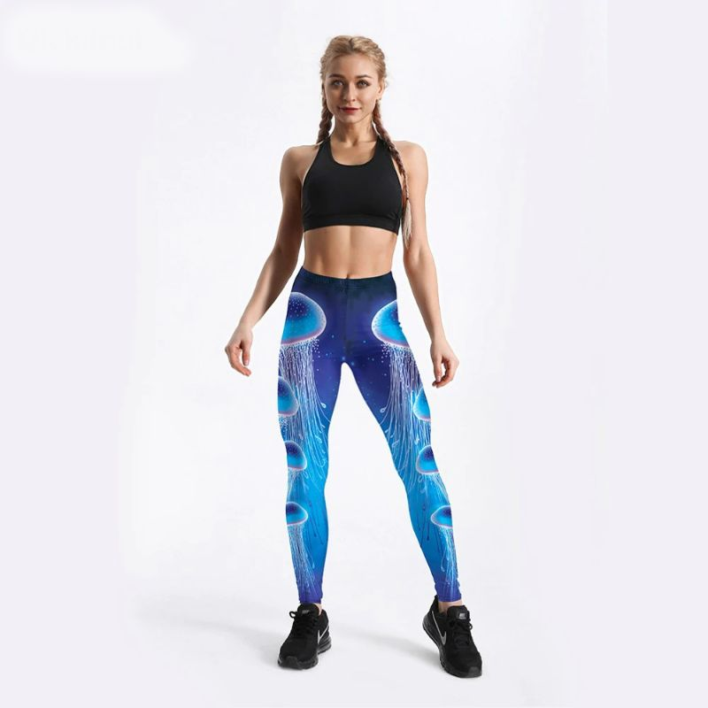 Jellyfish leggings for women S-4XL