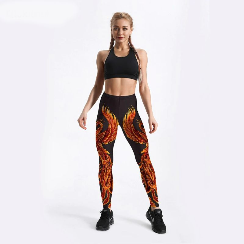 Phoenix leggings for women S-4XL