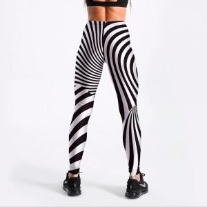 Zebra print leggings for women S-4XL