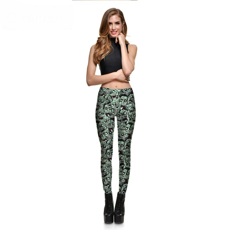Zombie leggings halloween S-4XL