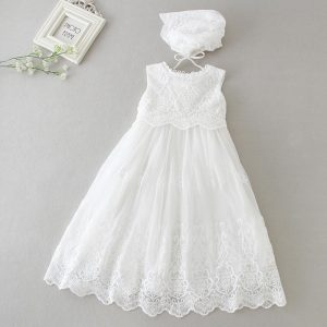 Extra long christening gowns
