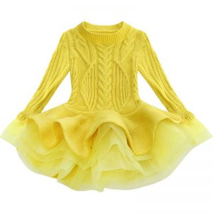 Jumper dress for girl