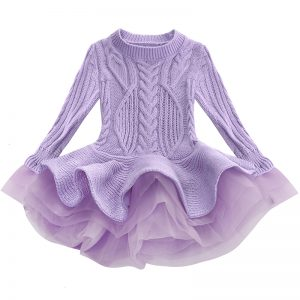 Kids sweater dress