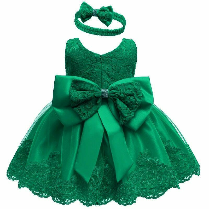 Lace frocks for babies up to age 24 months